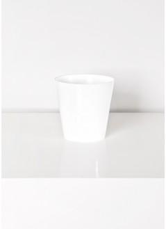 Кашпа стандарт бяла