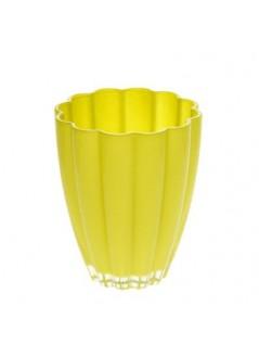 Стъклена кашпа BL 13см лайм