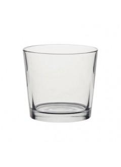 Стъклена кашпа NSH 11.5см Прозрачна